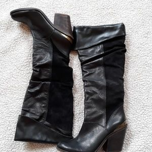 Brand new Lucky brand boots Suede & Leather never